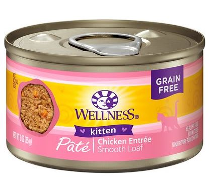 wellness complete health kitten food