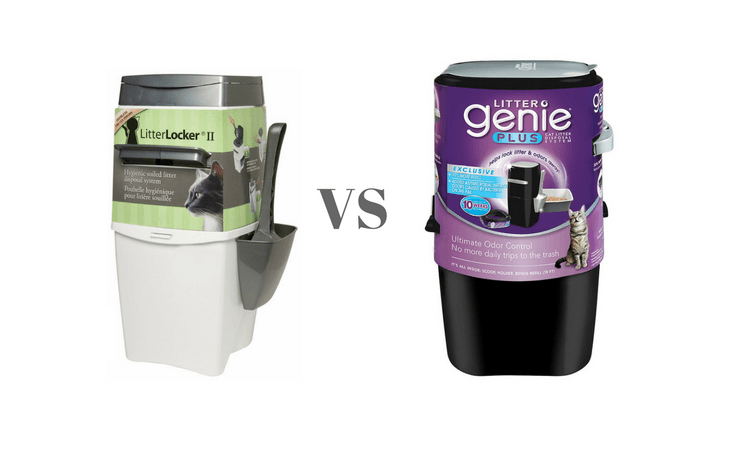 Litter Locker VS Litter Genie Plus