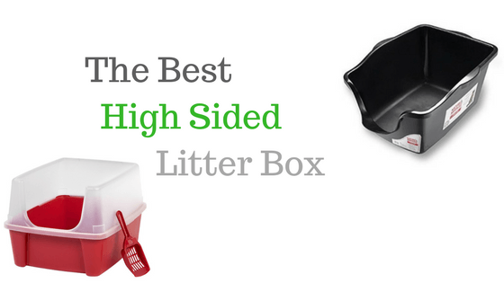 High sided litter box reviews