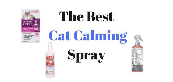 cat calming spray